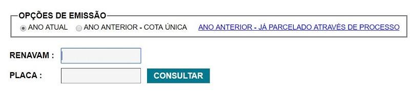 Consulta IPVA AL