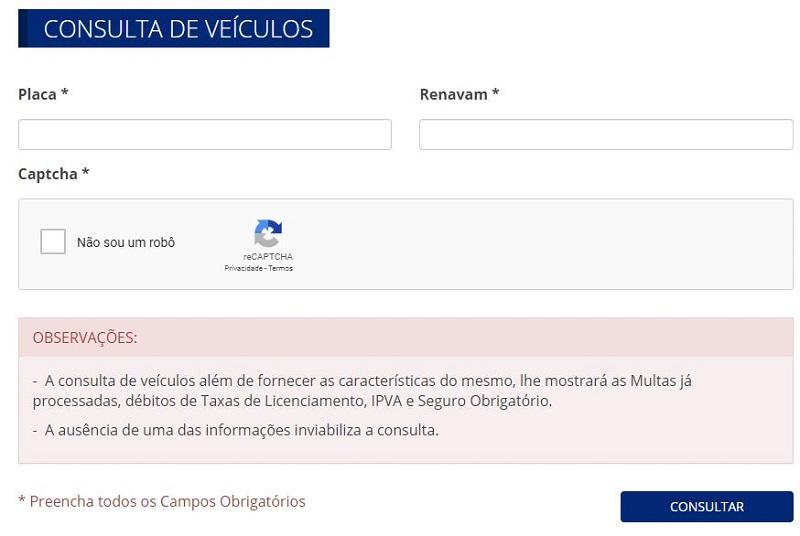 Consulta IPVA AP