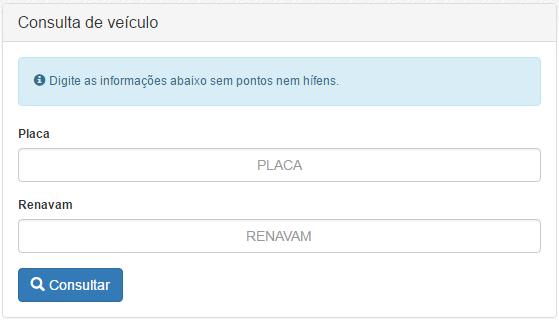 Consulta IPVA RN
