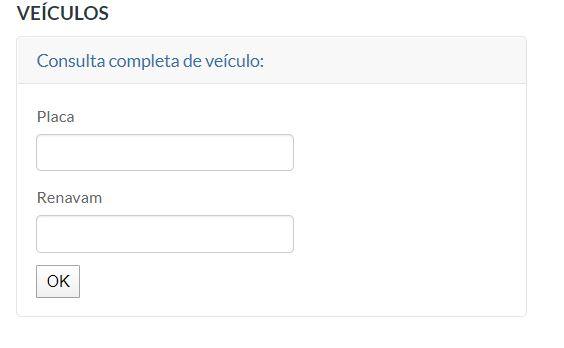 Consulta IPVA SC