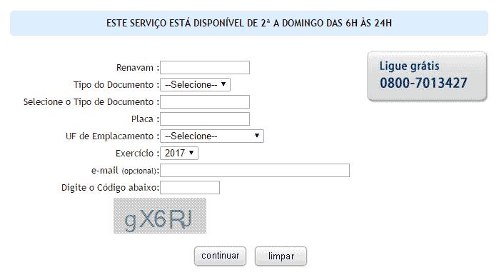 Seguro Obrigatório DPVAT 2021 SP