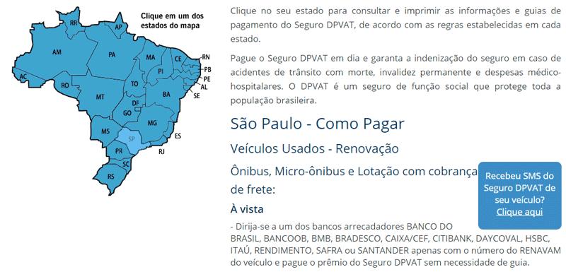 DPVAT São Paulo 2021